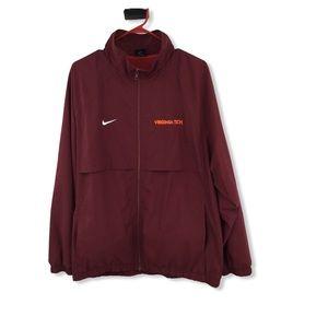 Nike Virginia Tech Men's Zip Jacket